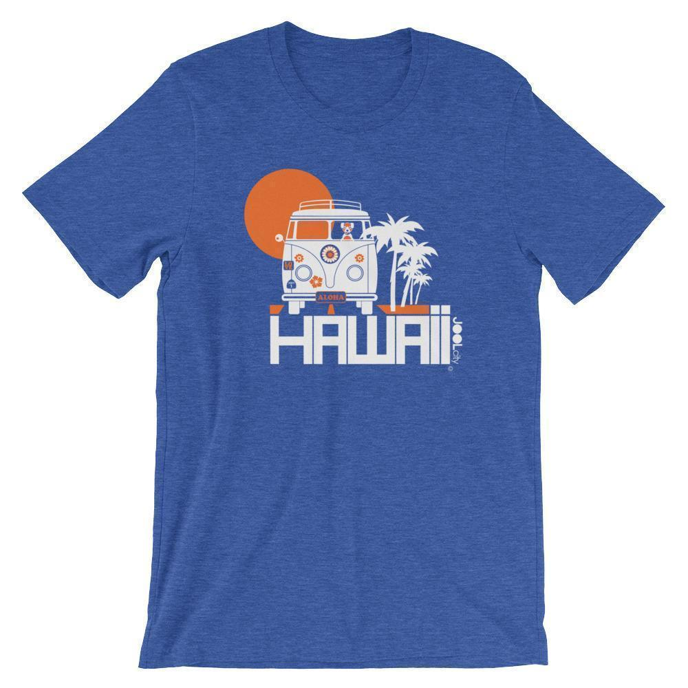 Hawaii  Aloha Cruise  Short-Sleeve Men's T-Shirt T-Shirt Heather True Royal / 2XL designed by JOOLcity