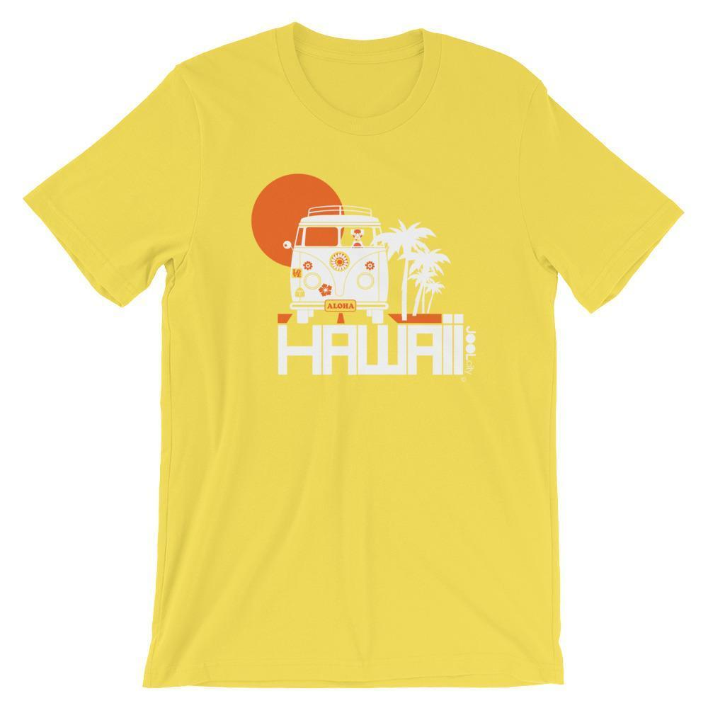 Hawaii  Aloha Cruise  Short-Sleeve Men's T-Shirt T-Shirt Yellow / 2XL designed by JOOLcity