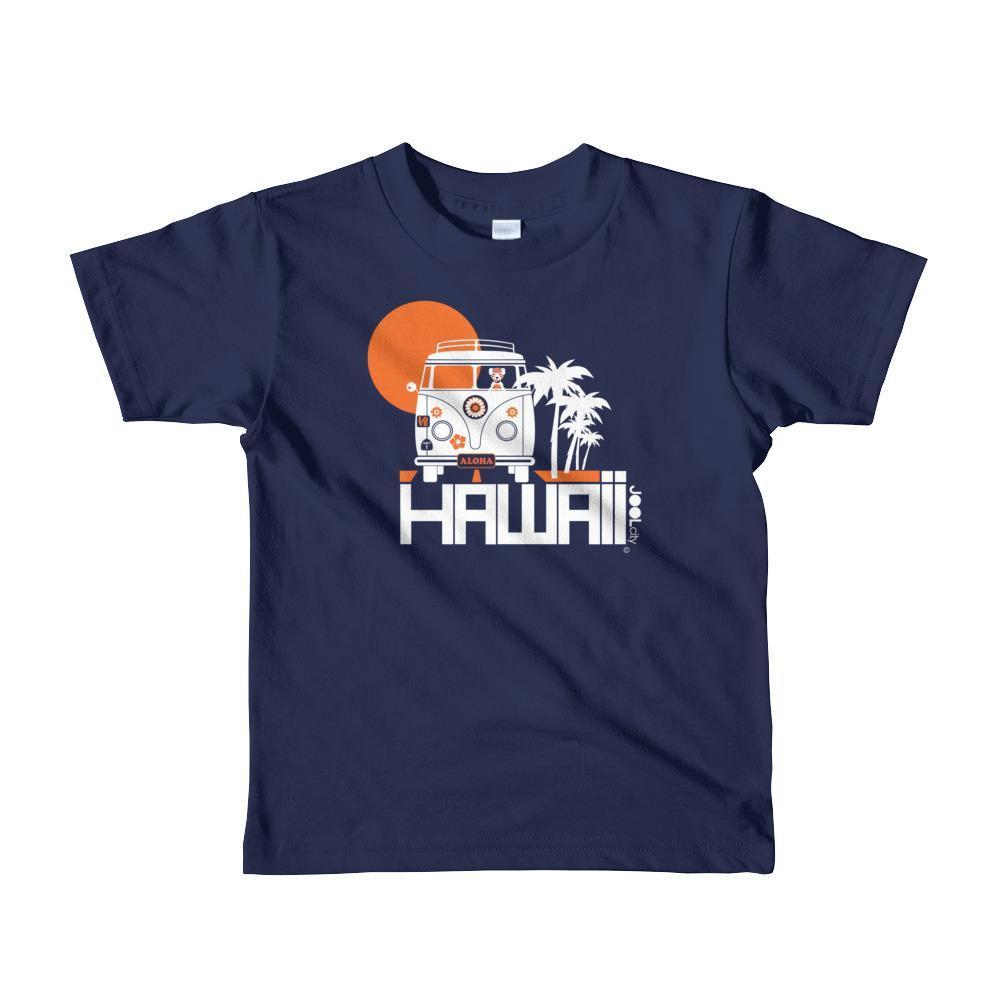 Hawaii Aloha Cruise Short Sleeve Toddler T-shirt T-Shirt Navy / 6yrs designed by JOOLcity