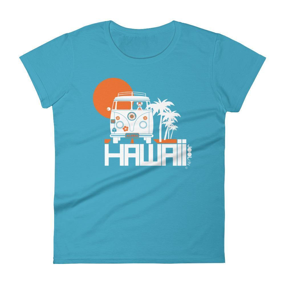 Hawaii  Aloha Cruise  Women's   Short Sleeve T-Shirt T-Shirt Caribbean Blue / 2XL designed by JOOLcity
