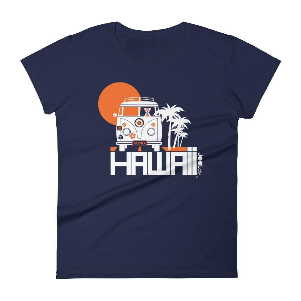 Hawaii  Aloha Cruise  Women's   Short Sleeve T-Shirt T-Shirt Navy / 2XL designed by JOOLcity