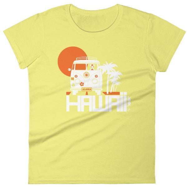 Hawaii  Aloha Cruise  Women's   Short Sleeve T-Shirt T-Shirt Spring Yellow / 2XL designed by JOOLcity