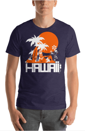 Hawaii  Apres Surf  Short-Sleeve Men's T-Shirt T-Shirt  designed by JOOLcity