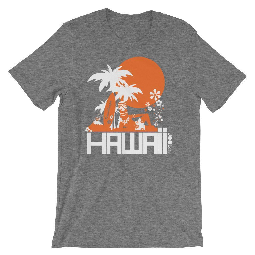 Hawaii  Apres Surf  Short-Sleeve Men's T-Shirt T-Shirt Deep Heather / 2XL designed by JOOLcity