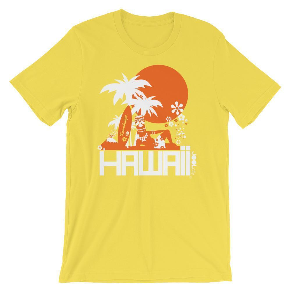 Hawaii  Apres Surf  Short-Sleeve Men's T-Shirt T-Shirt Yellow / 2XL designed by JOOLcity