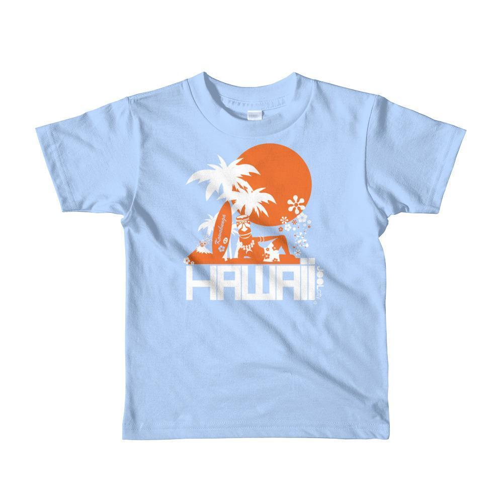 Hawaii  Apres Surf Short Sleeve Toddler T-shirt T-Shirt Baby Blue / 6yrs designed by JOOLcity