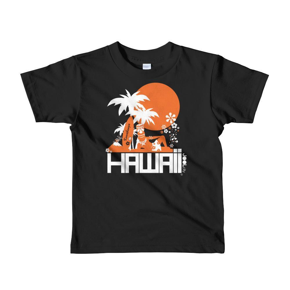 Hawaii  Apres Surf Short Sleeve Toddler T-shirt T-Shirt Black / 6yrs designed by JOOLcity