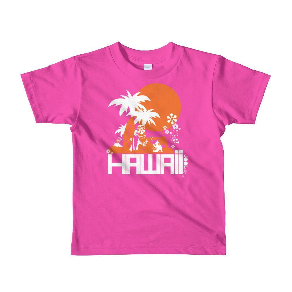 Hawaii  Apres Surf Short Sleeve Toddler T-shirt T-Shirt Fuchsia / 6yrs designed by JOOLcity