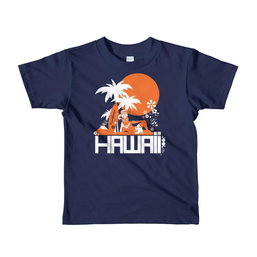 Hawaii  Apres Surf Short Sleeve Toddler T-shirt T-Shirt Navy / 4yrs designed by JOOLcity