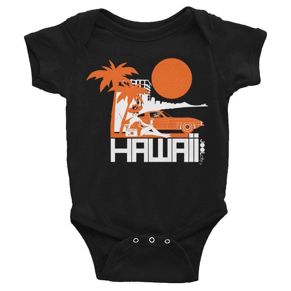 Hawaii  Beach Bombshell Baby Onesie
