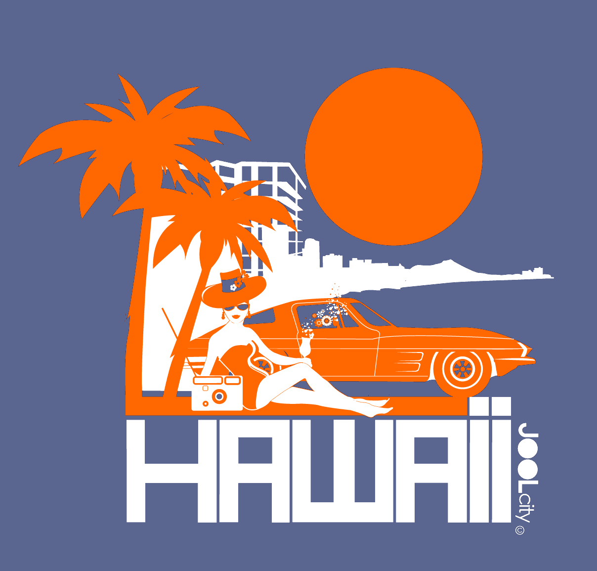 Hawaii  Beach Bombshell  Women's   Short Sleeve T-Shirt T-Shirt  designed by JOOLcity