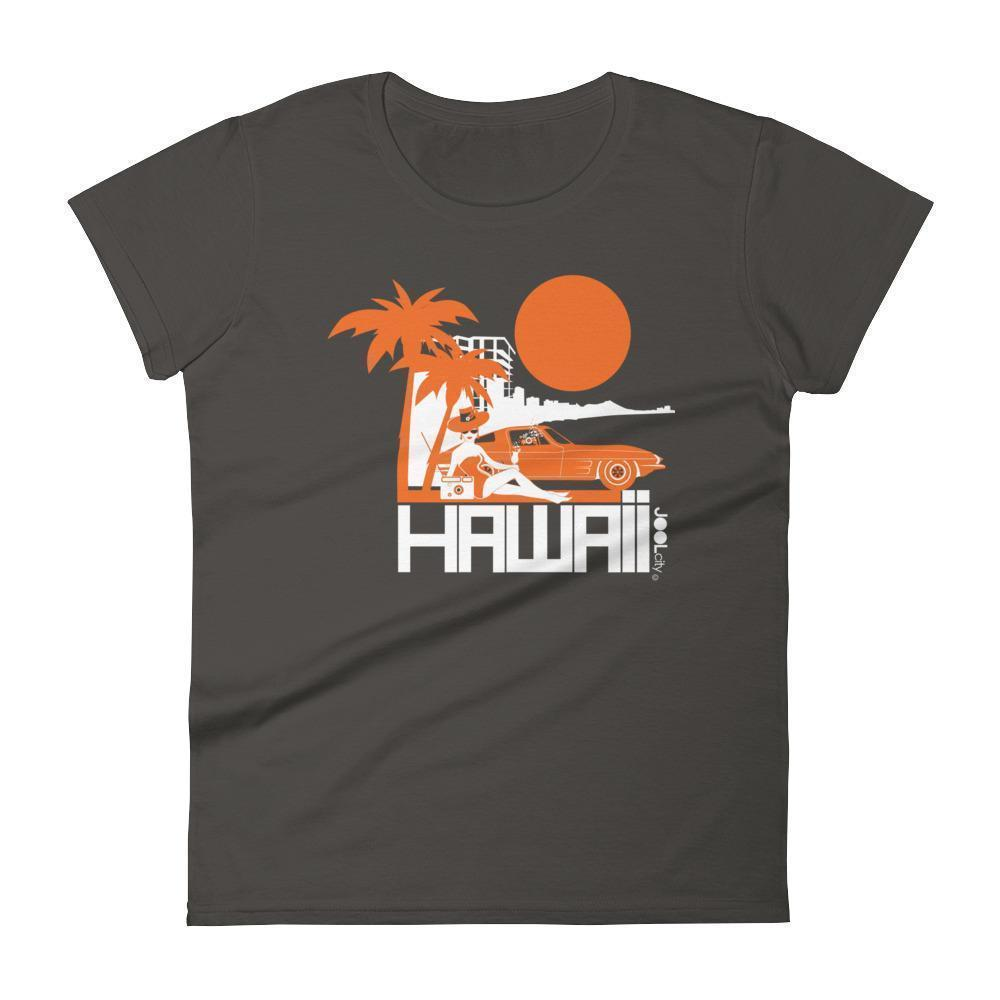 Hawaii  Beach Bombshell  Women's   Short Sleeve T-Shirt T-Shirt Smoke / 2XL designed by JOOLcity