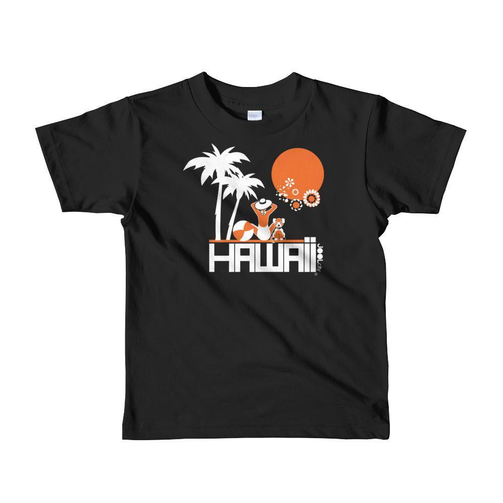 Hawaii  Beach Love  Short Sleeve Toddler T-shirt T-Shirt Black / 6yrs designed by JOOLcity