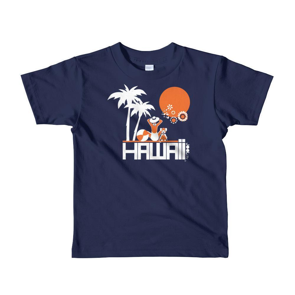 Hawaii  Beach Love  Short Sleeve Toddler T-shirt T-Shirt Navy / 6yrs designed by JOOLcity