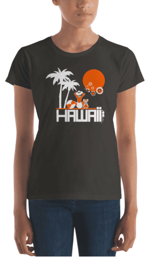 Hawaii  Beach Love  Women's   Short Sleeve T-Shirt T-Shirt  designed by JOOLcity