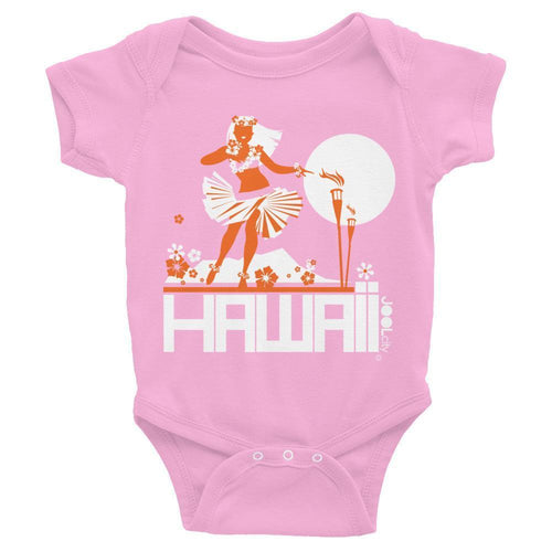 Hawaii  Hula Happy Baby Onesie