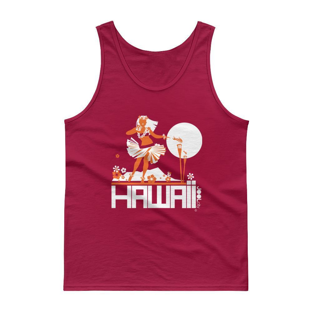 Hawaii Hula Happy Men's Tank Top