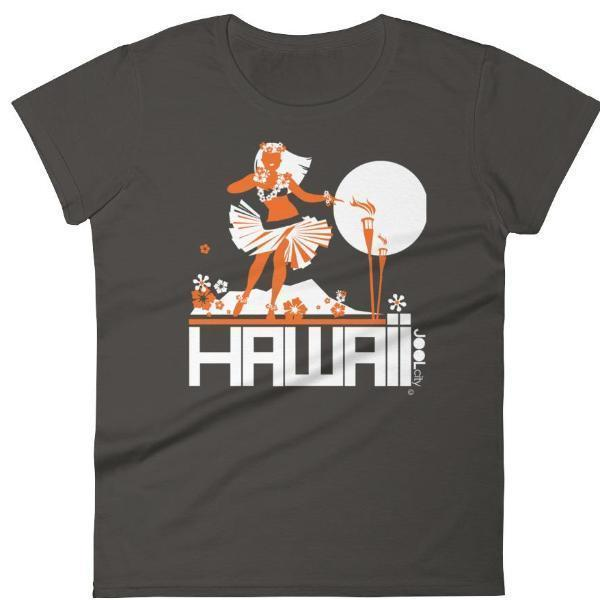 Hawaii  Hula Happy  Women's   Short Sleeve T-Shirt T-Shirt Smoke / 2XL designed by JOOLcity