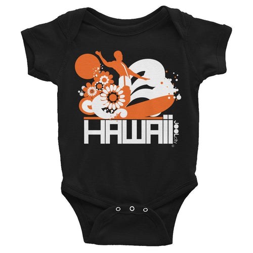 Hawaii  Longboard Love Baby Onesie
