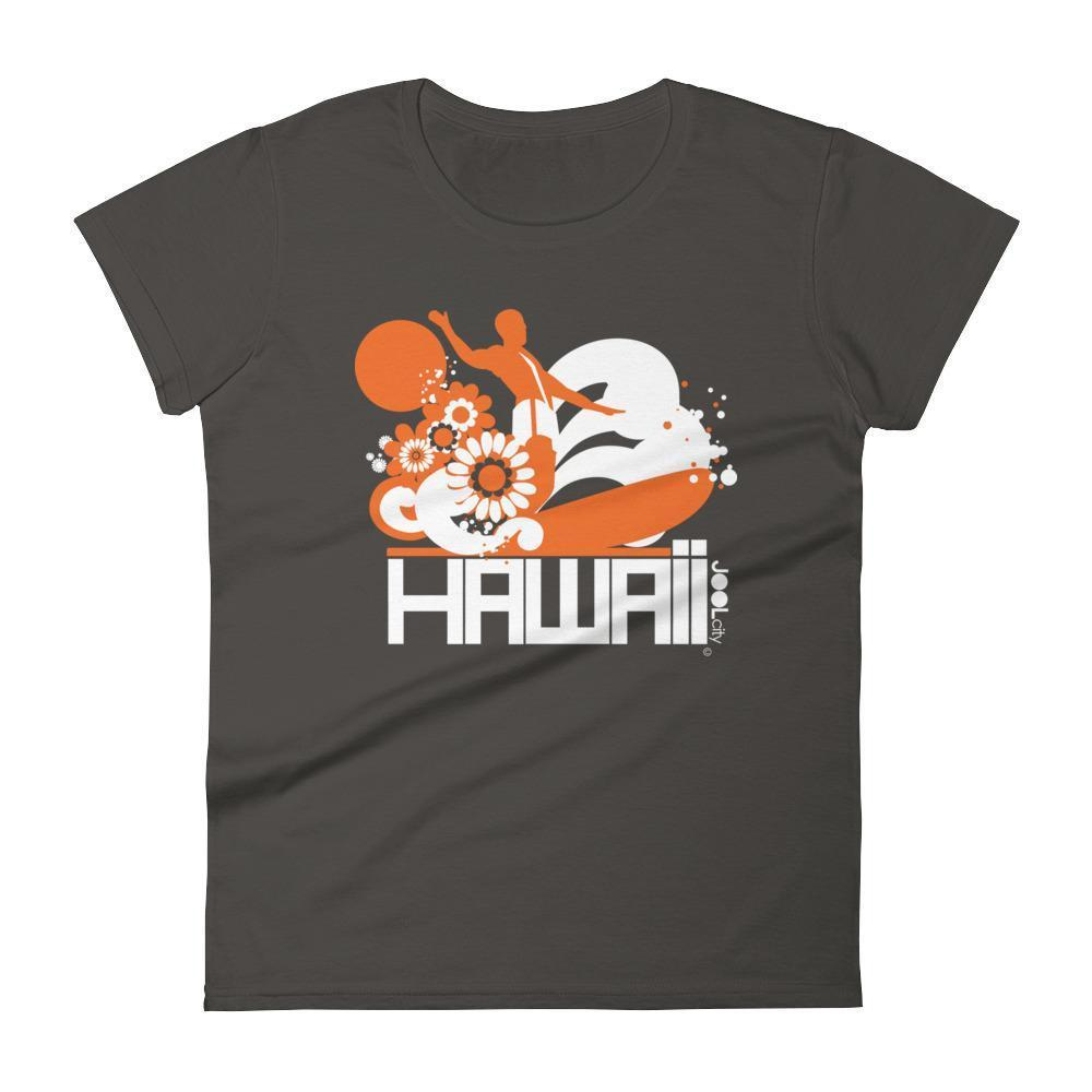 Hawaii  Longboard Love  Women's   Short Sleeve T-Shirt T-Shirt Smoke / 2XL designed by JOOLcity
