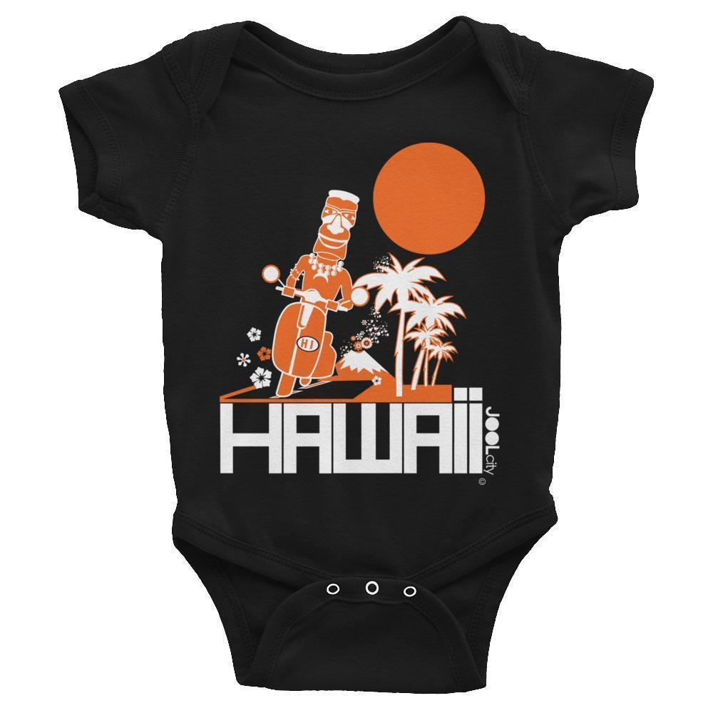 Hawaii  Moped Madness Baby Onesie