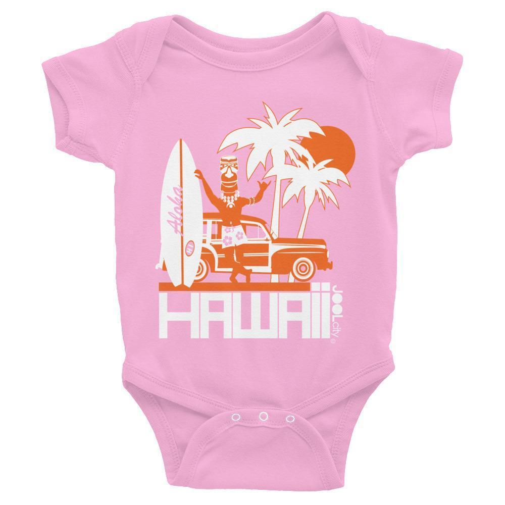 Hawaii Surfin Woody Baby Onesie