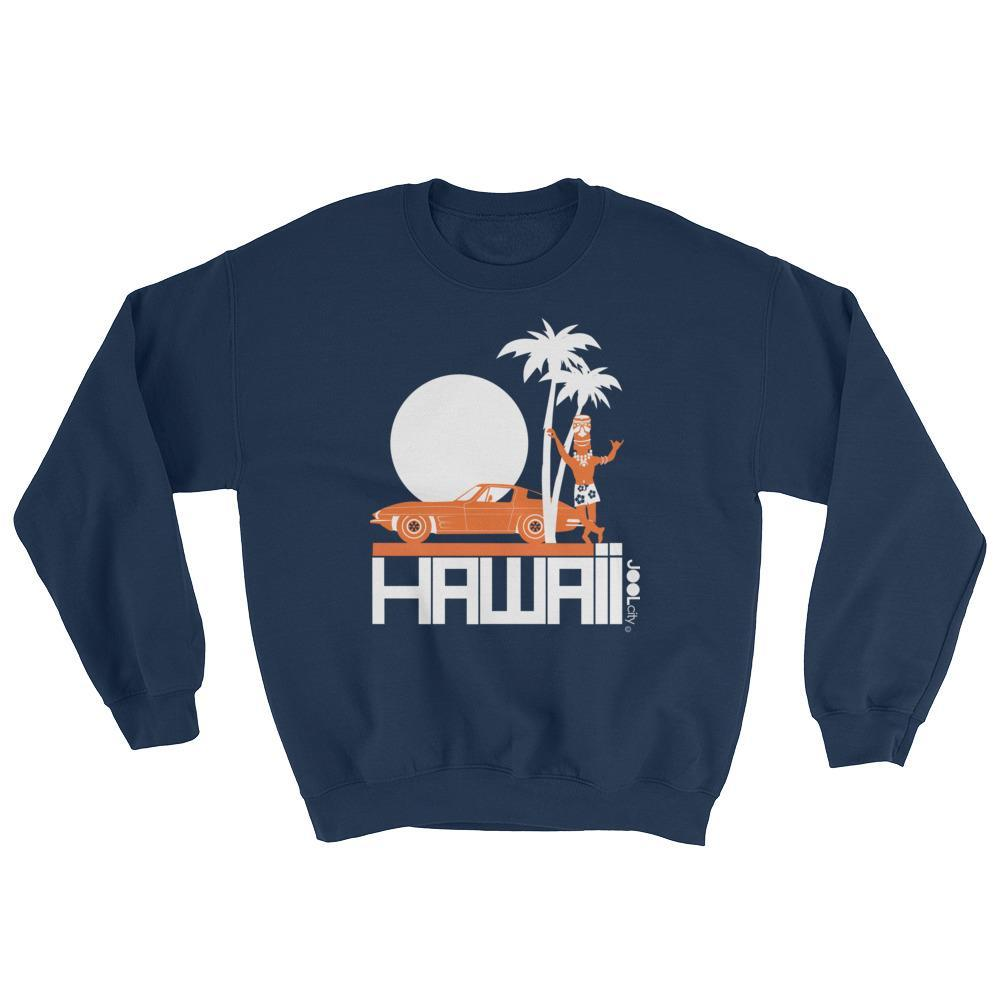 Hawaii Tiki Guy Ride Men's Sweatshirt