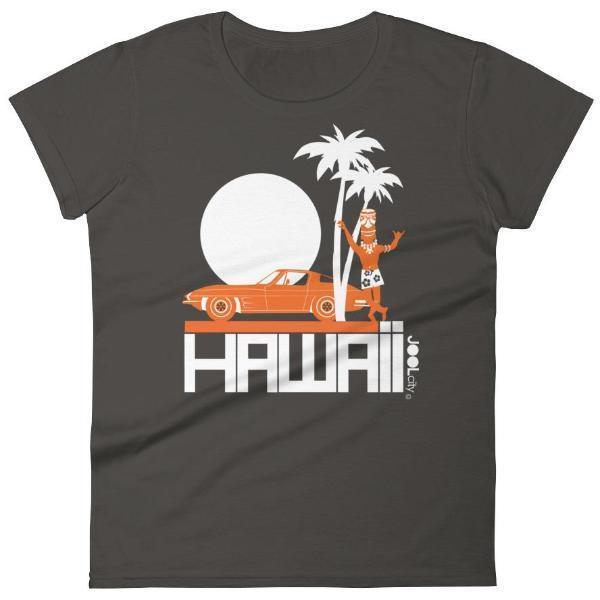 Hawaii  Tiki Guy Ride  Women's   Short Sleeve T-Shirt T-Shirt Smoke / 2XL designed by JOOLcity