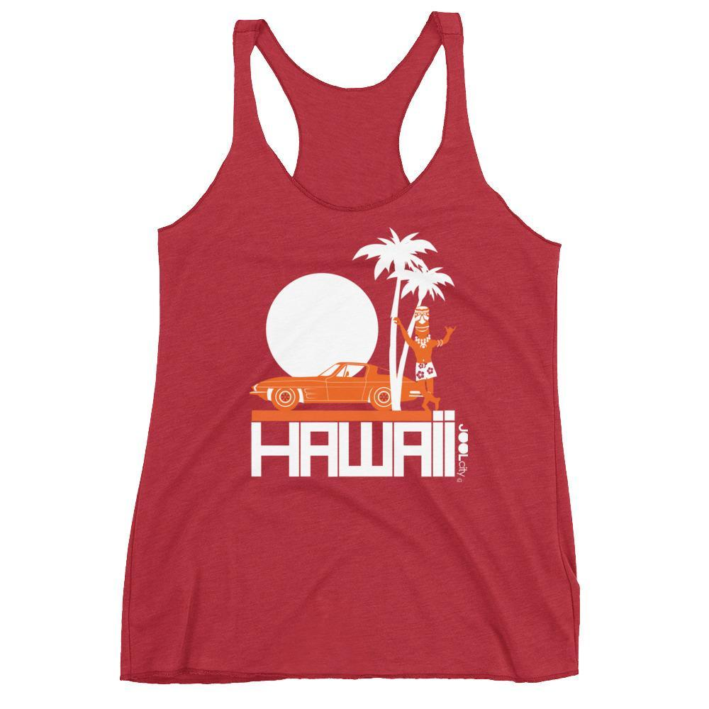 Hawaii Tiki Guy Ride Women's Tank Top
