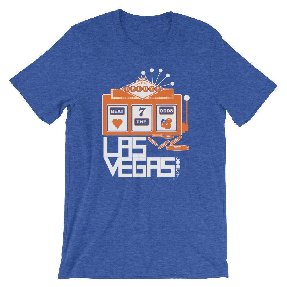 Las Vegas Beat The Odds Short-Sleeve Men's  T-Shirt T-Shirt Heather True Royal / 2XL designed by JOOLcity