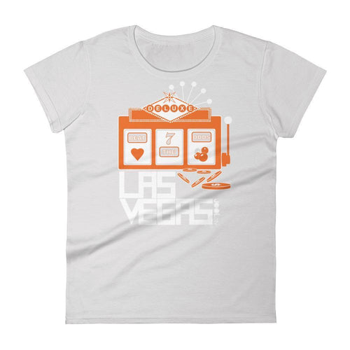 Las Vegas Beat the Odds Women's Short Sleeve T-shirt T-Shirt Silver / 2XL designed by JOOLcity