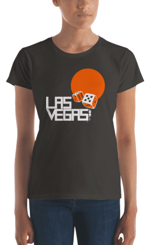 Las Vegas Dice Roll Women's Short Sleeve T-shirt T-Shirt  designed by JOOLcity