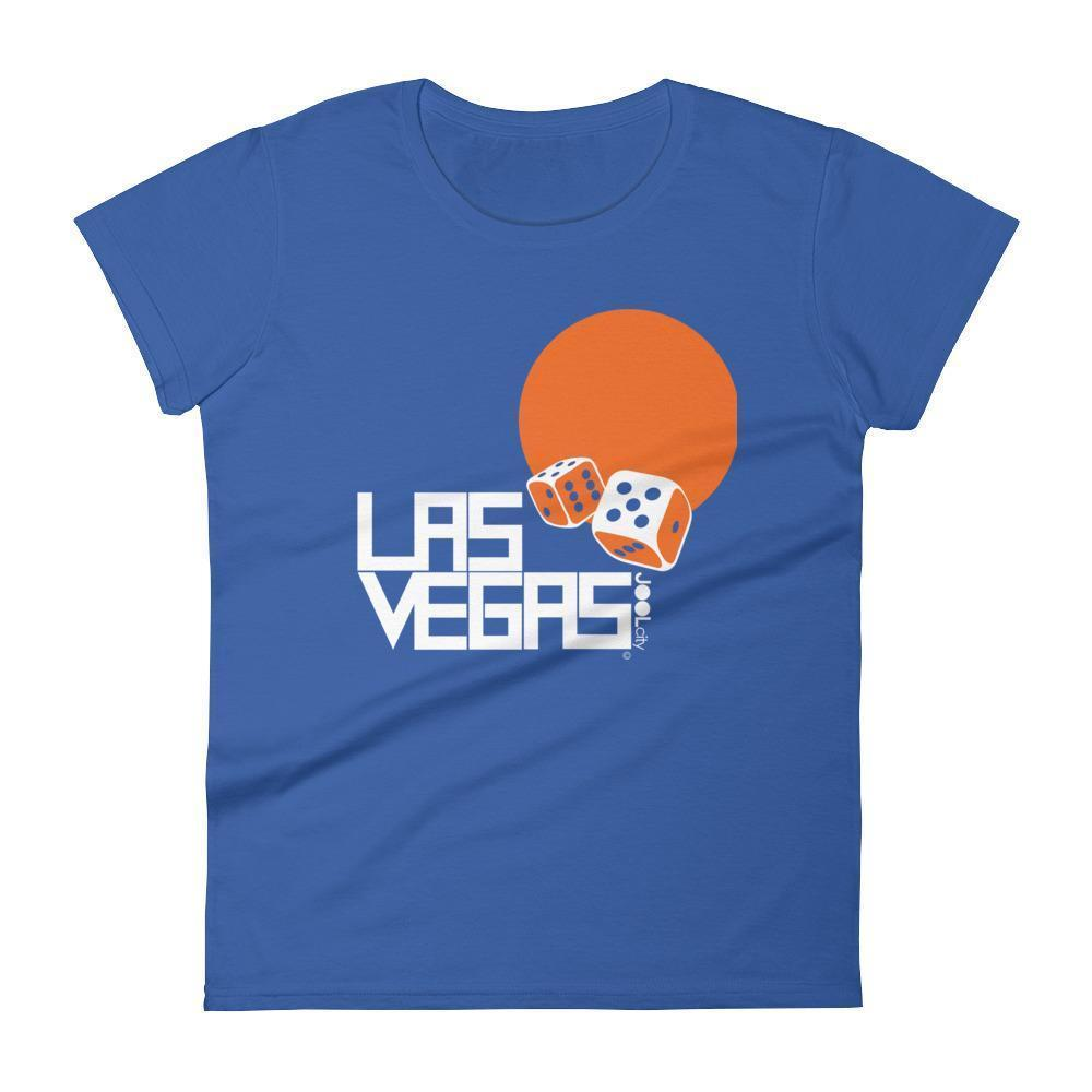 Las Vegas Dice Roll Women's Short Sleeve T-shirt T-Shirt Royal Blue / 2XL designed by JOOLcity