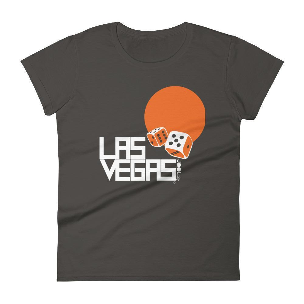 Las Vegas Dice Roll Women's Short Sleeve T-shirt T-Shirt Smoke / 2XL designed by JOOLcity