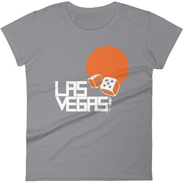 Las Vegas Dice Roll Women's Short Sleeve T-shirt T-Shirt Storm Grey / 2XL designed by JOOLcity