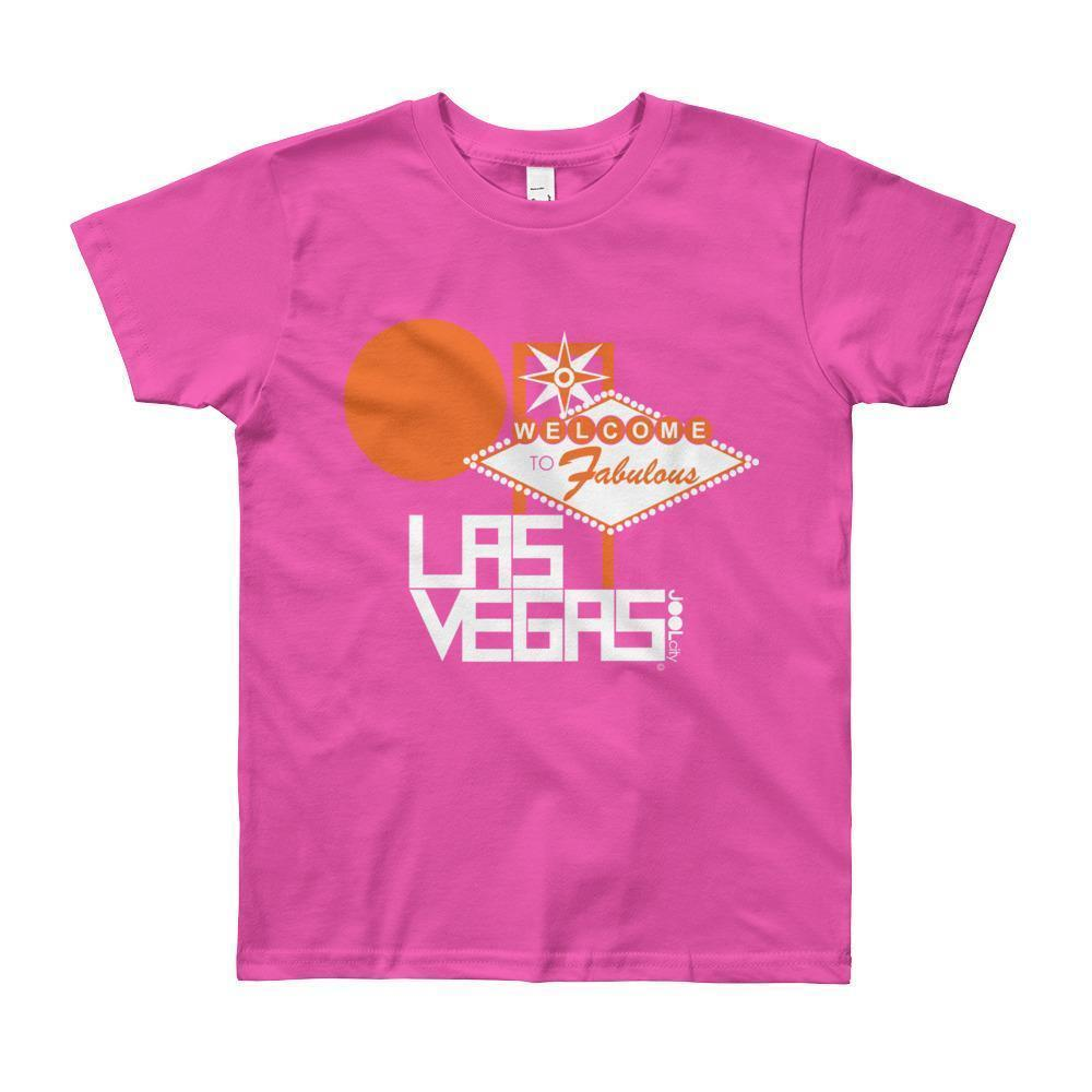 Las Vegas Fabulous Short Sleeve Youth T-shirt T-Shirt Fuchsia / 8yrs designed by JOOLcity