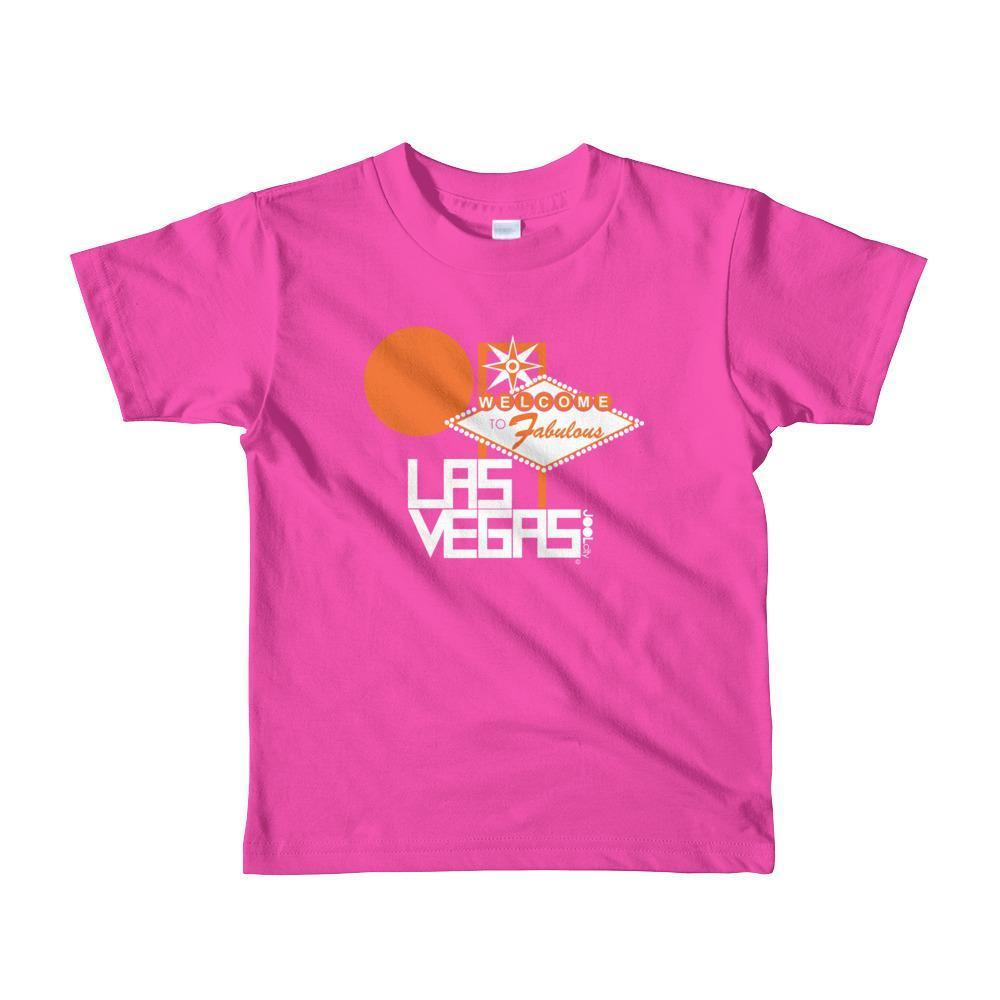 Las Vegas Fabulous Toddler Short-Sleeve T-shirt T-Shirt Fuchsia / 6yrs designed by JOOLcity