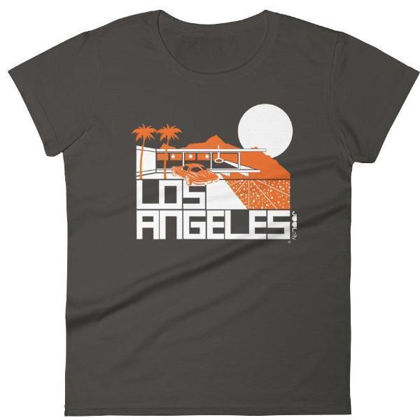 Los Angeles  Cliff House  Women's  Short Sleeve T-Shirt T-Shirt Smoke / 2XL designed by JOOLcity
