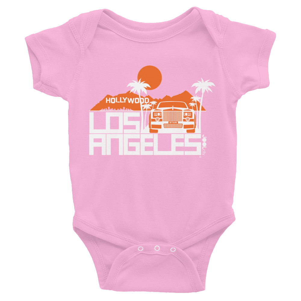 Los Angeles Hollywood Star Baby Onesie