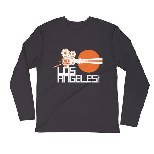Los Angeles Movie Star Long Sleeve Men's T-Shirt T-Shirt 2XL designed by JOOLcity