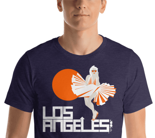 Los Angeles My Girl Short-Sleeve Men's T-Shirt T-Shirt  designed by JOOLcity