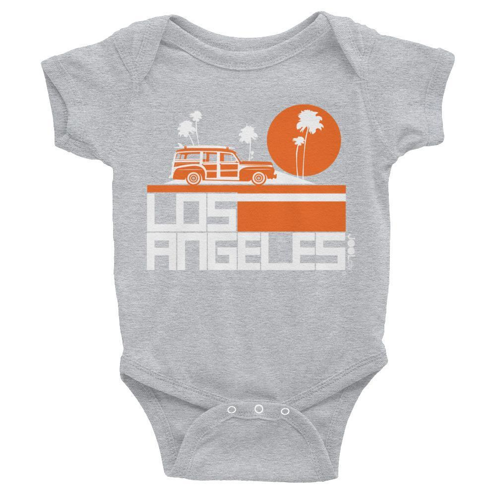 Los Angeles  Woody Wagon  Baby Onesie