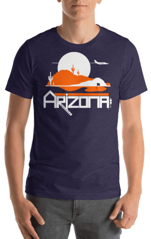 Men's Arizona Tee High Short-Sleeve T-Shirt T-Shirt  designed by JOOLcity
