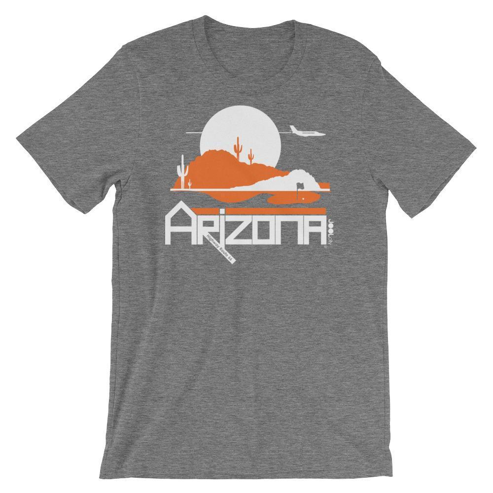Men's Arizona Tee High Short-Sleeve T-Shirt T-Shirt Deep Heather / 2XL designed by JOOLcity