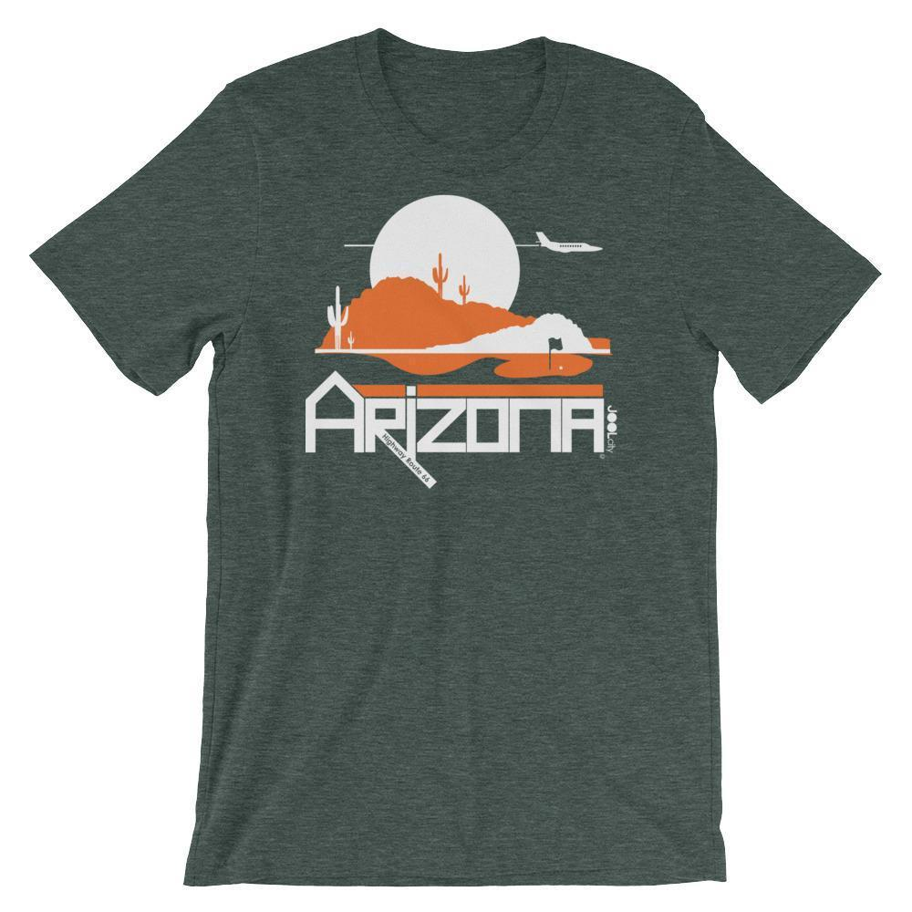 Men's Arizona Tee High Short-Sleeve T-Shirt T-Shirt Heather Forest / 2XL designed by JOOLcity