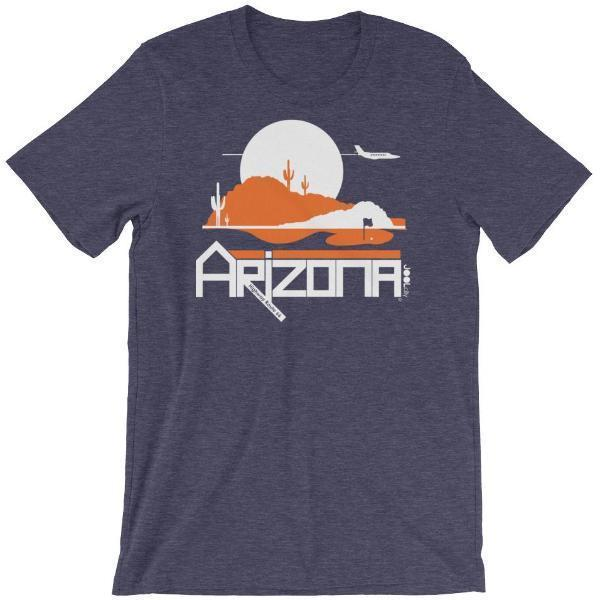 Men's Arizona Tee High Short-Sleeve T-Shirt T-Shirt Heather Midnight Navy / 2XL designed by JOOLcity