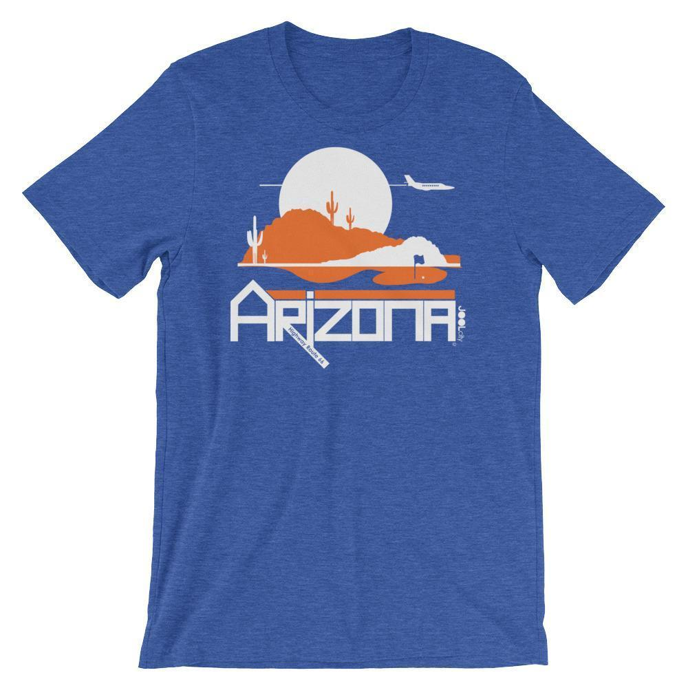 Men's Arizona Tee High Short-Sleeve T-Shirt T-Shirt Heather True Royal / 2XL designed by JOOLcity