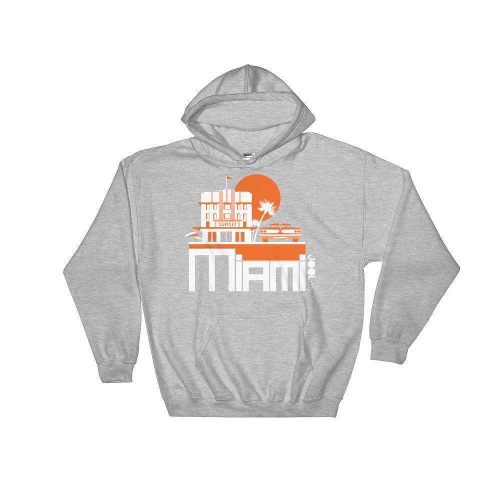 Miami Deco Ride Hooded Sweatshirt