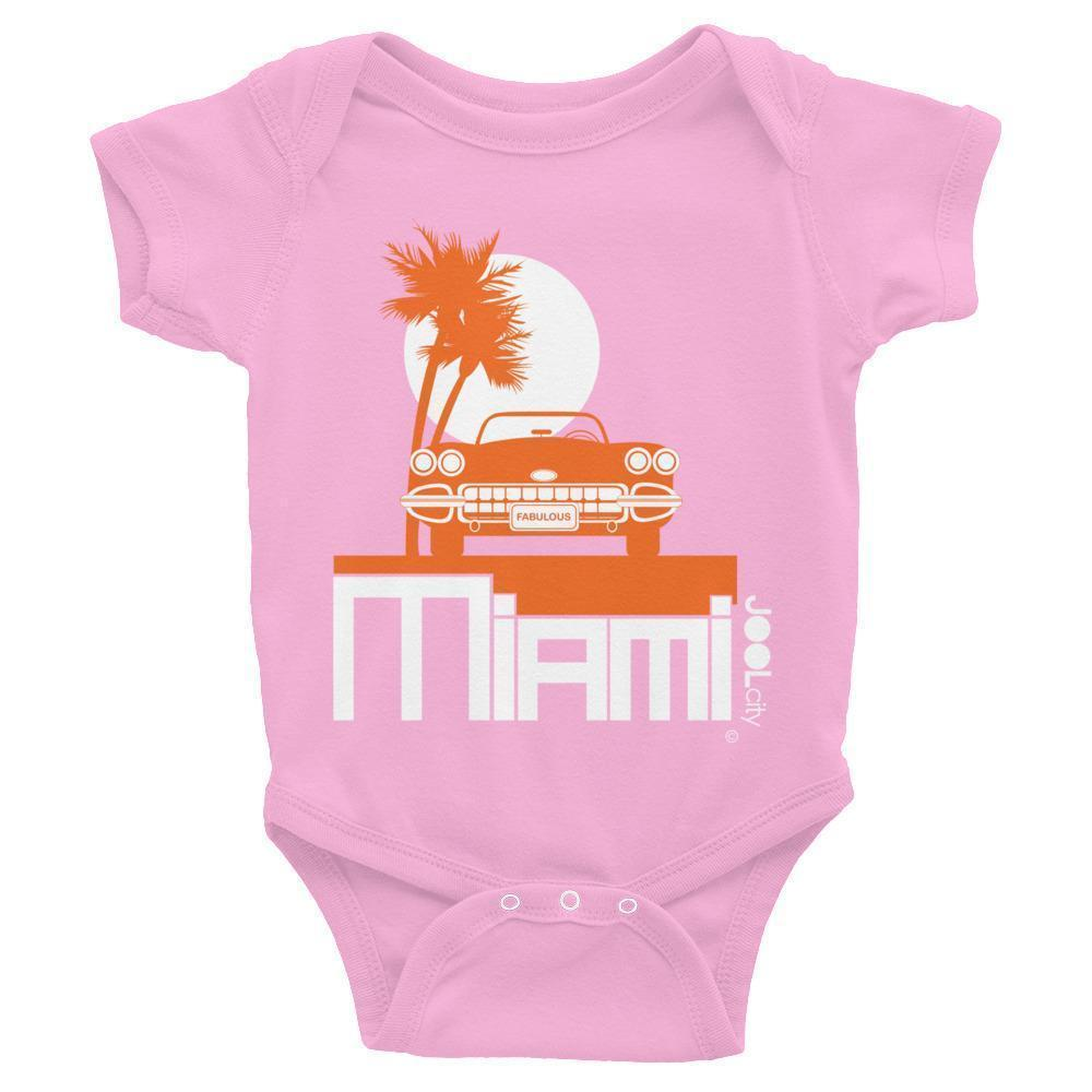 Miami Palm Cruise Baby Onesie