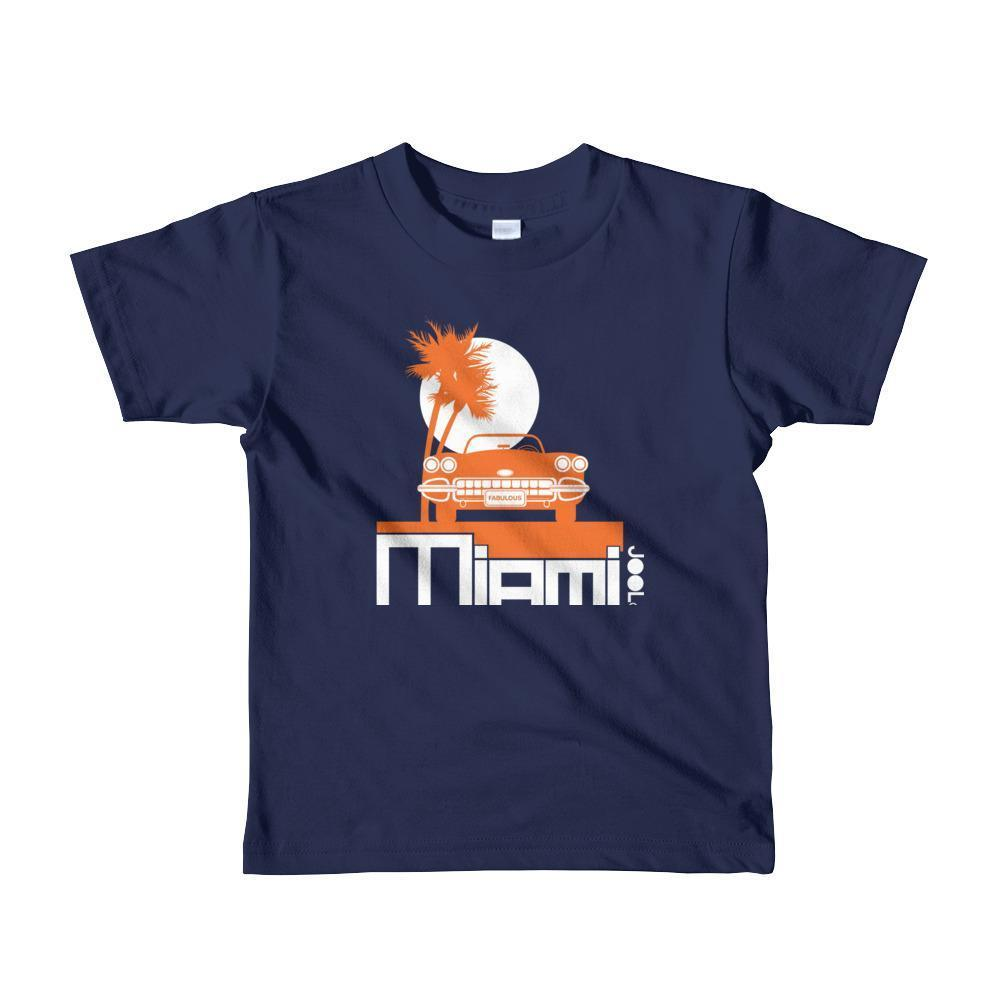 Miami Palm Cruise Toddler Short-Sleeve T-Shirt T-Shirt Navy / 6yrs designed by JOOLcity